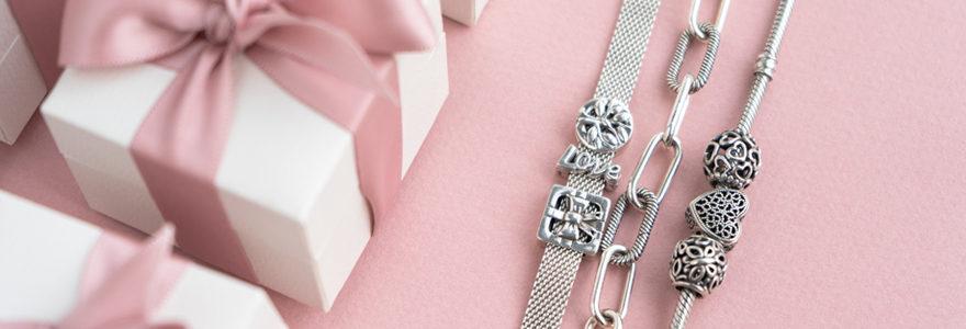 Offrir un bracelet avec prénom gravé